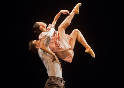 Andrej Szabo, Klaudia Görözdös (choreografia Today and tomorrow yesterday), foto: Peter Brenkus
