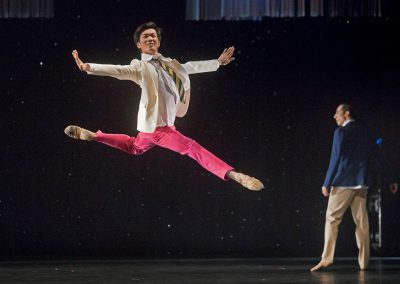 Seiru Nagahori (choreografia Fool on the hill), foto: Peter Brenkus